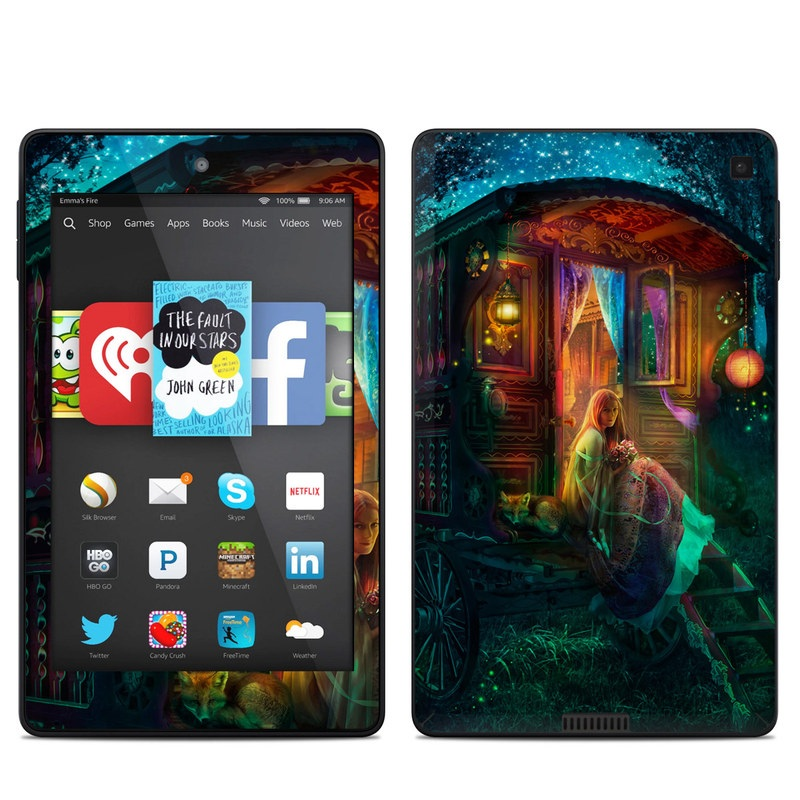 Gypsy Firefly Amazon Kindle Fire HD 6 Skin