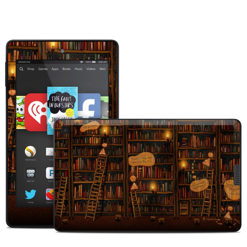 Google Data Center Amazon Kindle Fire HD 6 Skin