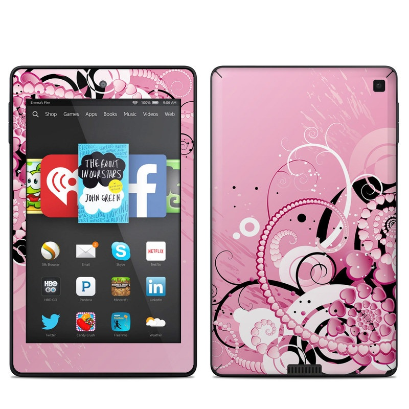 Her Abstraction Amazon Kindle Fire HD 6 Skin