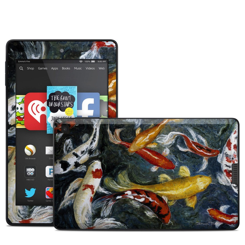 Koi's Happiness Amazon Kindle Fire HD 6 Skin