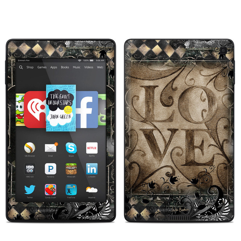 Love's Embrace Amazon Kindle Fire HD 6 Skin