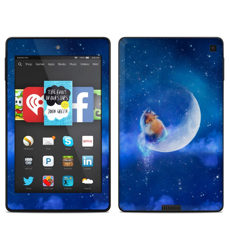 Moon Fox Amazon Kindle Fire HD 6 Skin