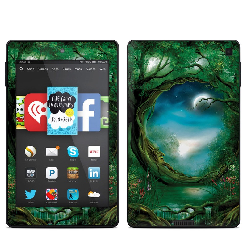 Moon Tree Amazon Kindle Fire HD 6 Skin
