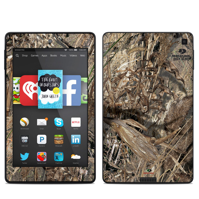 Duck Blind Amazon Kindle Fire HD 6 Skin