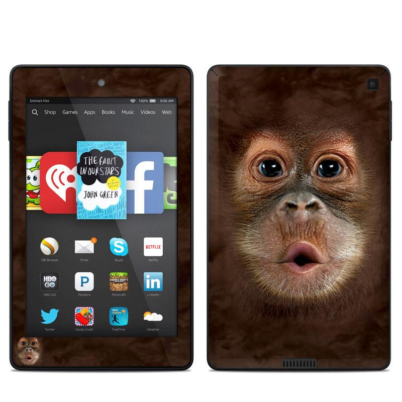 Orangutan Amazon Kindle Fire HD 6 Skin