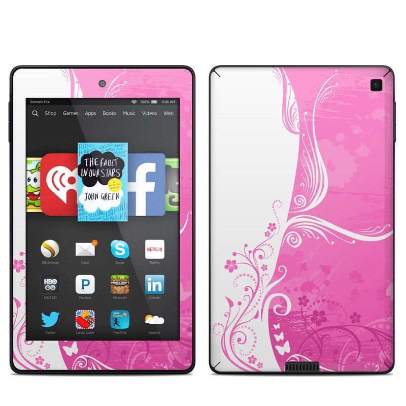 Pink Crush Amazon Kindle Fire HD 6 Skin