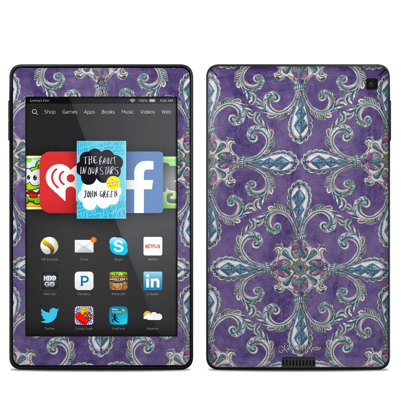Royal Crown Amazon Kindle Fire HD 6 Skin