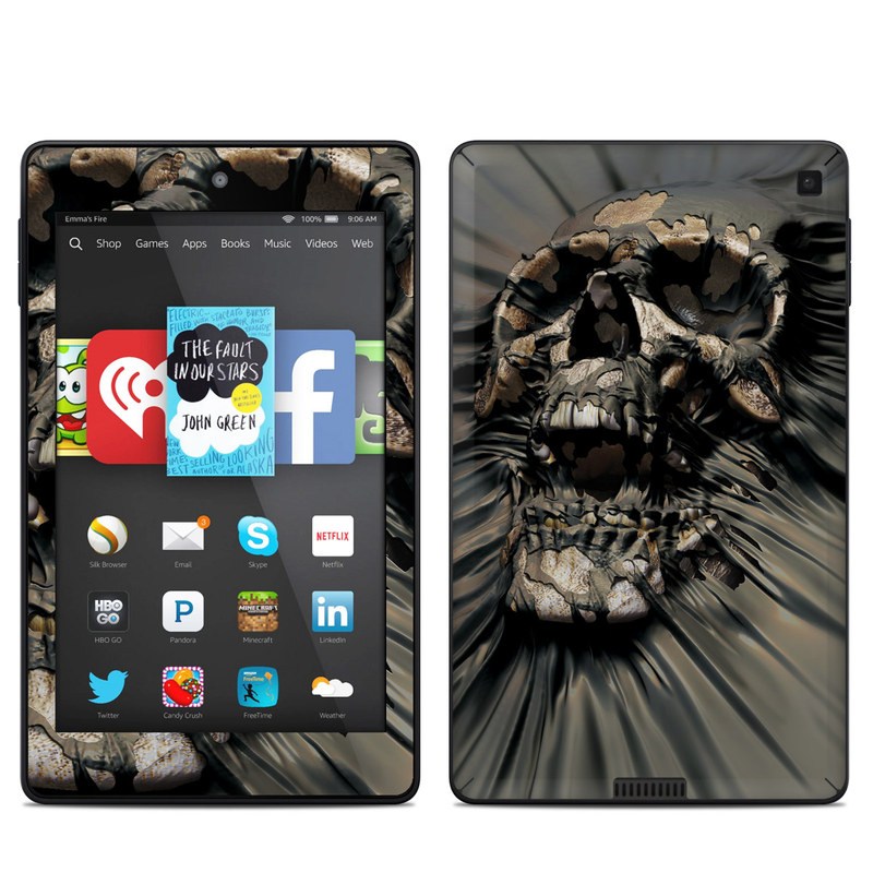 Skull Wrap Amazon Kindle Fire HD 6 Skin