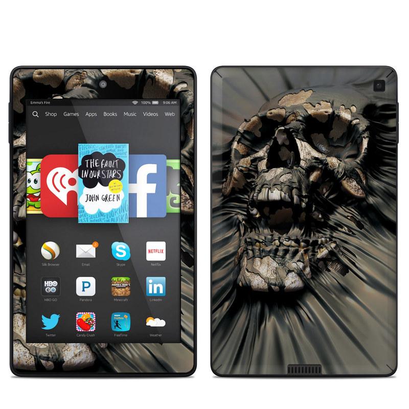 Skull Wrap Amazon Kindle Fire HD 6 Skin