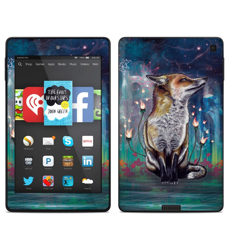 There is a Light Amazon Kindle Fire HD 6 Skin