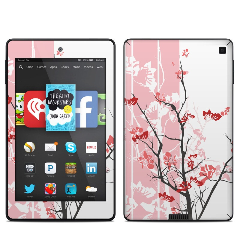 Pink Tranquility Amazon Kindle Fire HD 6 Skin