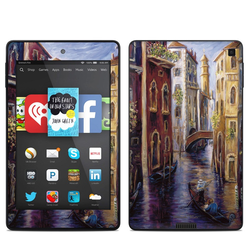Venezia Amazon Kindle Fire HD 6 Skin
