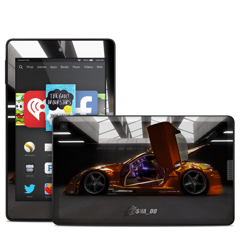 Z33 Light Amazon Kindle Fire HD 6 Skin