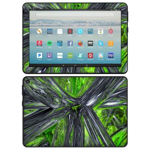 Emerald Abstract Amazon Fire HD 8 2020 Skin
