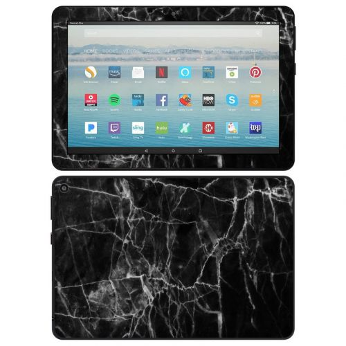 Black Marble Amazon Fire HD 8 2020 Skin