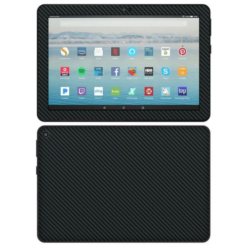Carbon Amazon Fire HD 8 2020 Skin
