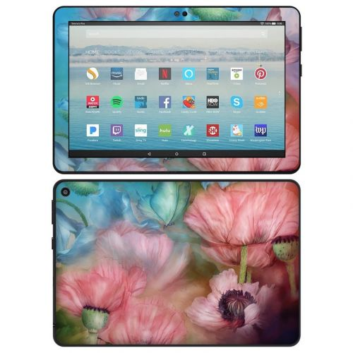 Poppy Garden Amazon Fire HD 8 2020 Skin