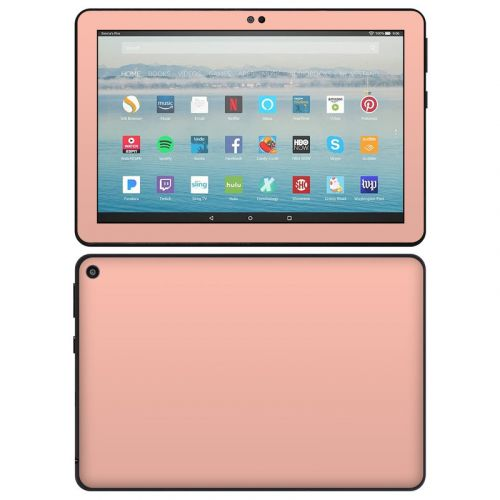 Solid State Peach Amazon Fire HD 8 2020 Skin