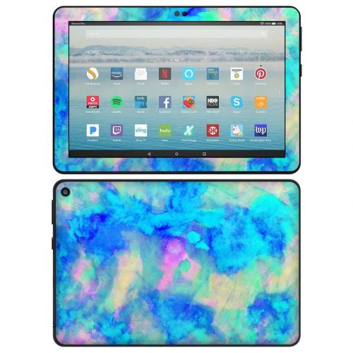 Electrify Ice Blue Amazon Fire HD 8 Plus 2020 Skin