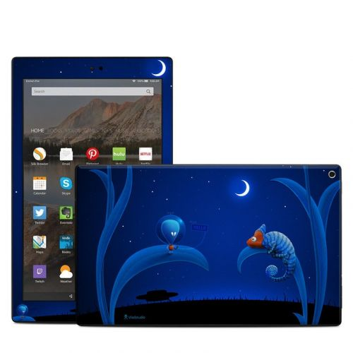 Alien and Chameleon Amazon Fire HD 10 (2017) Skin
