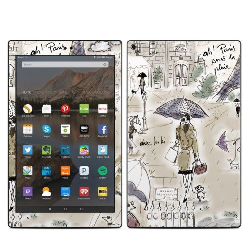 Ah Paris Amazon Fire HD 10 (2017) Skin