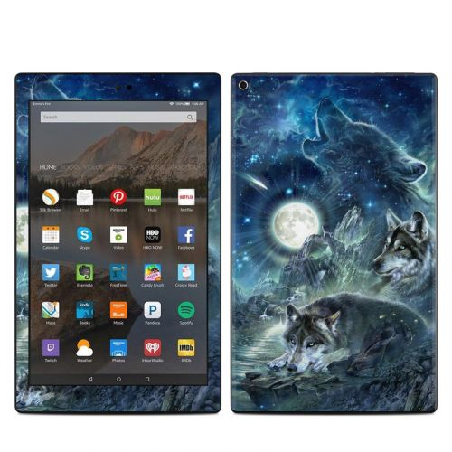Bark At The Moon Amazon Fire HD 10 (2017) Skin
