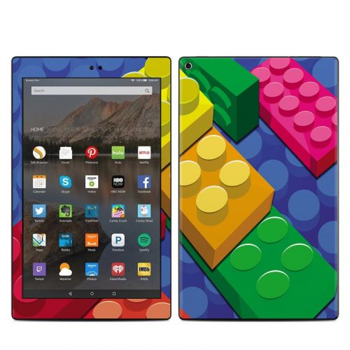 Bricks Amazon Fire HD 10 (2017) Skin