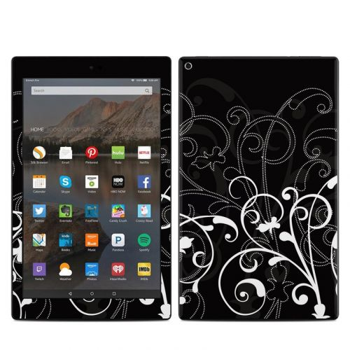 B&W Fleur Amazon Fire HD 10 (2017) Skin