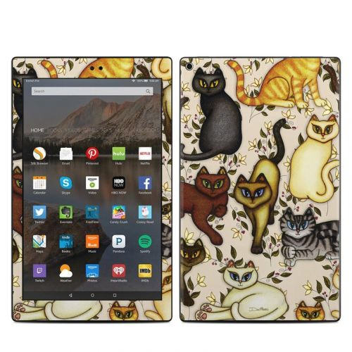 Cats Amazon Fire HD 10 (2017) Skin