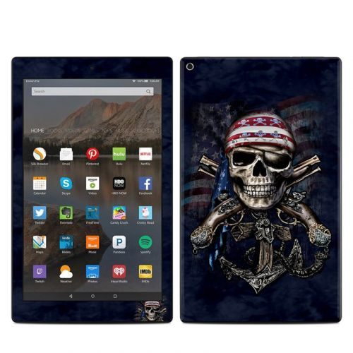 Dead Anchor Amazon Fire HD 10 (2017) Skin