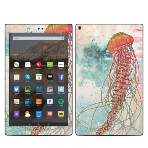 Jellyfish Amazon Fire HD 10 (2017) Skin