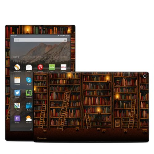 Library Amazon Fire HD 10 (2017) Skin