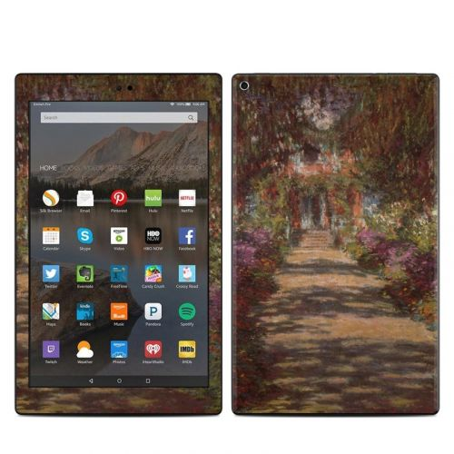 Garden at Giverny Amazon Fire HD 10 (2017) Skin