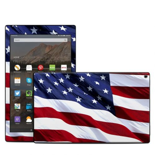 Patriotic Amazon Fire HD 10 (2017) Skin