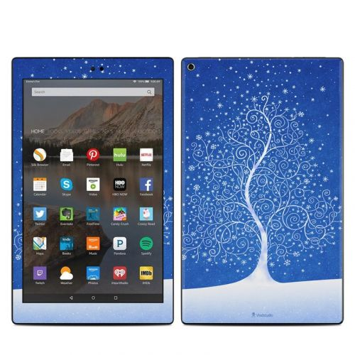 Snowflakes Are Born Amazon Fire HD 10 (2017) Skin