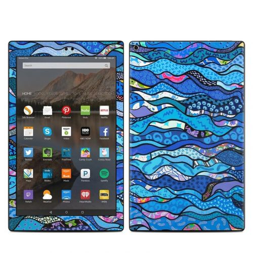 The Blues Amazon Fire HD 10 (2017) Skin