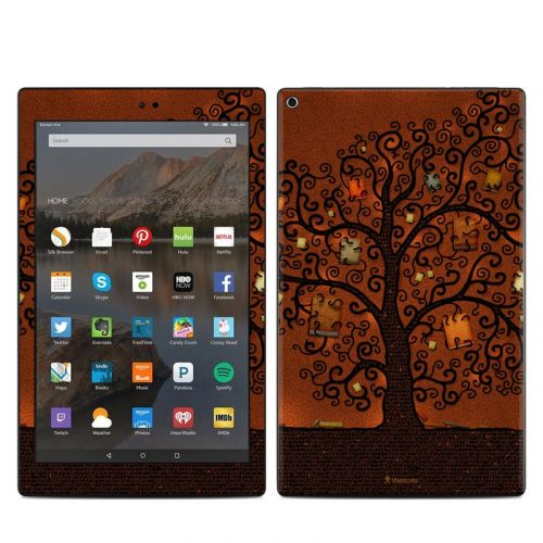 Tree Of Books Amazon Fire HD 10 (2017) Skin
