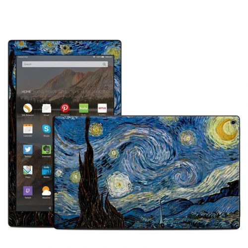 Starry Night Amazon Fire HD 10 (2017) Skin