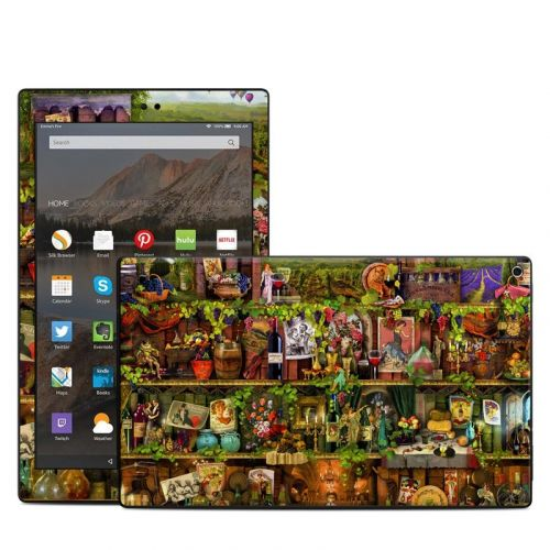 Wine Shelf Amazon Fire HD 10 (2017) Skin