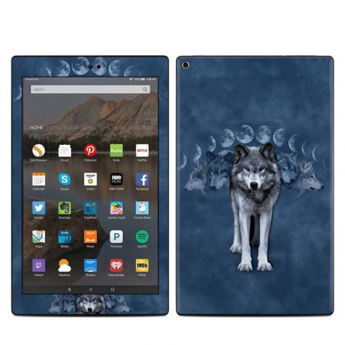 Wolf Cycle Amazon Fire HD 10 (2017) Skin