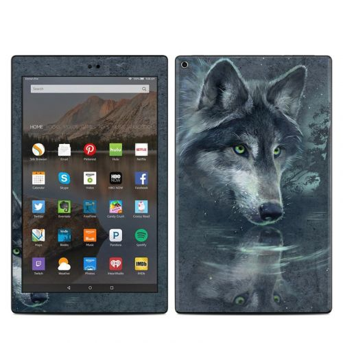 Wolf Reflection Amazon Fire HD 10 (2017) Skin