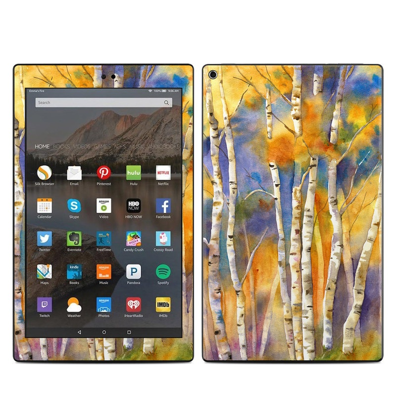 Aspens Amazon Fire HD 10 (2017) Skin