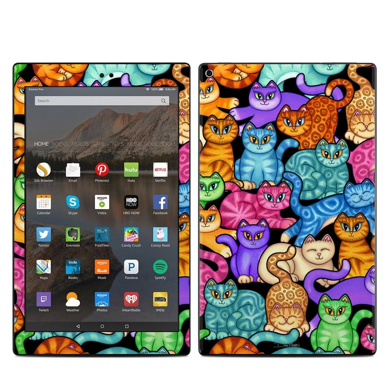 Colorful Kittens Amazon Fire HD 10 (2017) Skin