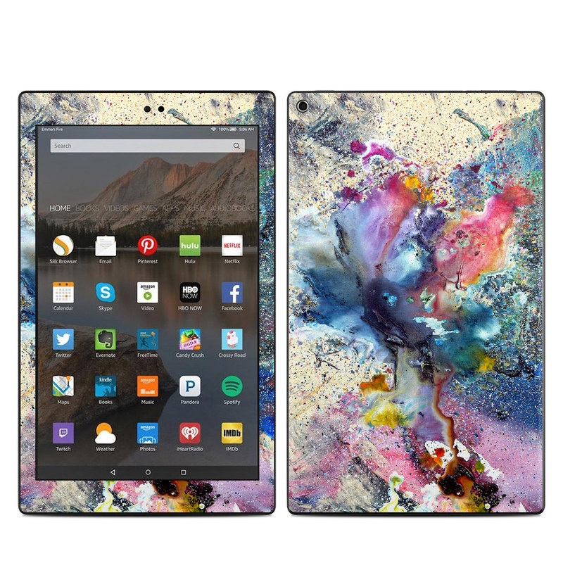 Cosmic Flower Amazon Fire HD 10 (2017) Skin