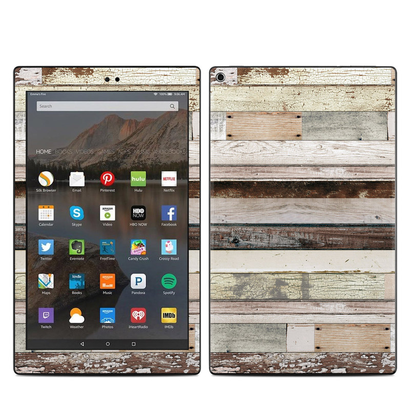 Eclectic Wood Amazon Fire HD 10 (2017) Skin