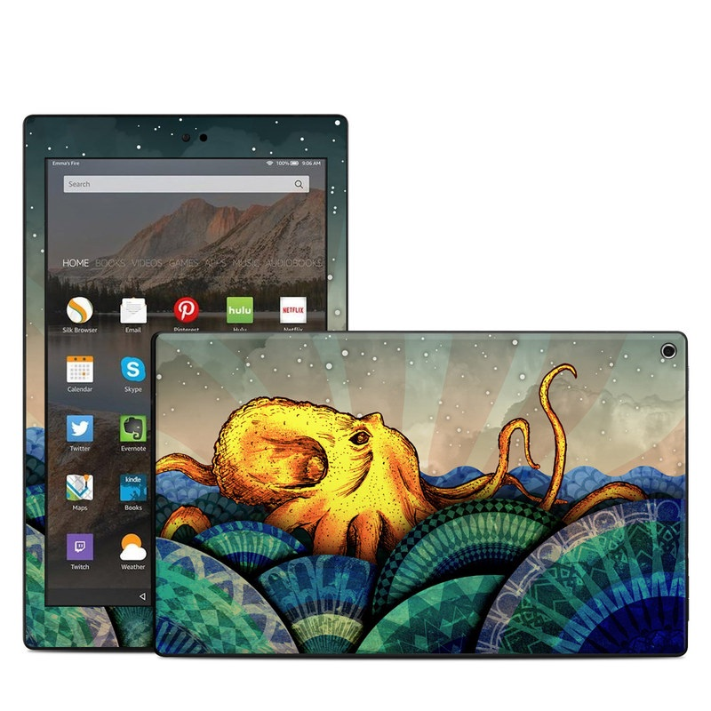From the Deep Amazon Fire HD 10 (2017) Skin