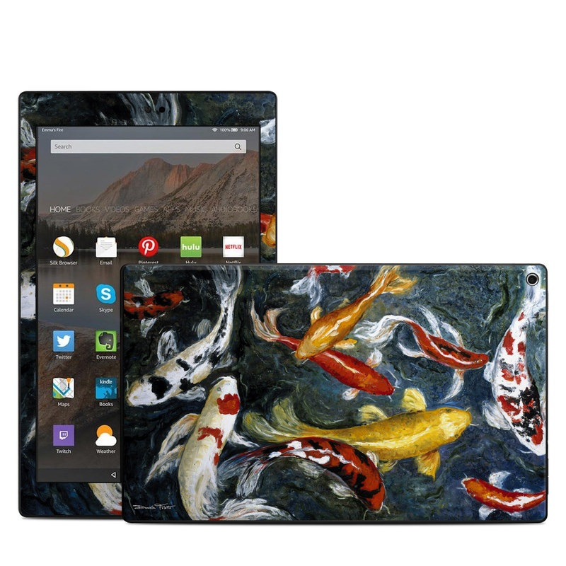 Koi's Happiness Amazon Fire HD 10 (2017) Skin