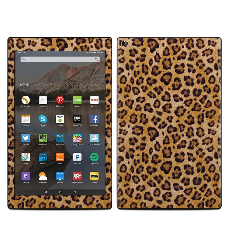 Leopard Spots Amazon Fire HD 10 (2017) Skin