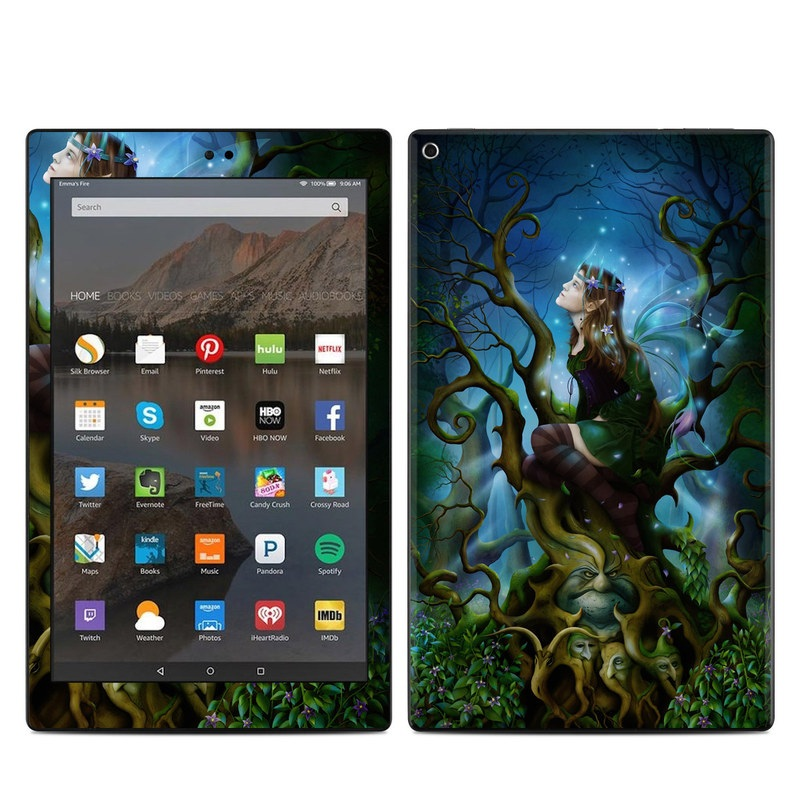 Nightshade Fairy Amazon Fire HD 10 (2017) Skin