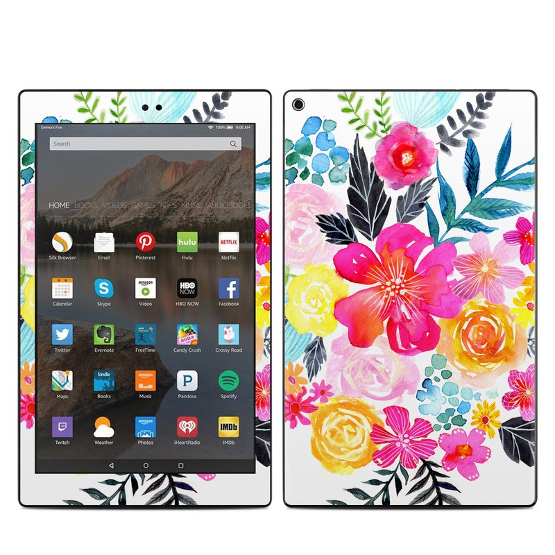 Pink Bouquet Amazon Fire HD 10 (2017) Skin